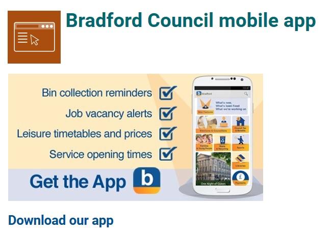Blog Bradford app